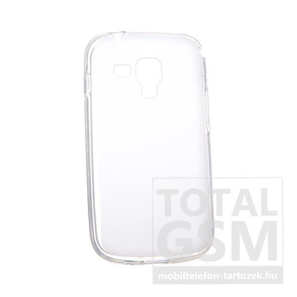 Samsung GT-S7562/GT-S7658 Dual Sim törtfehér szilikon tok