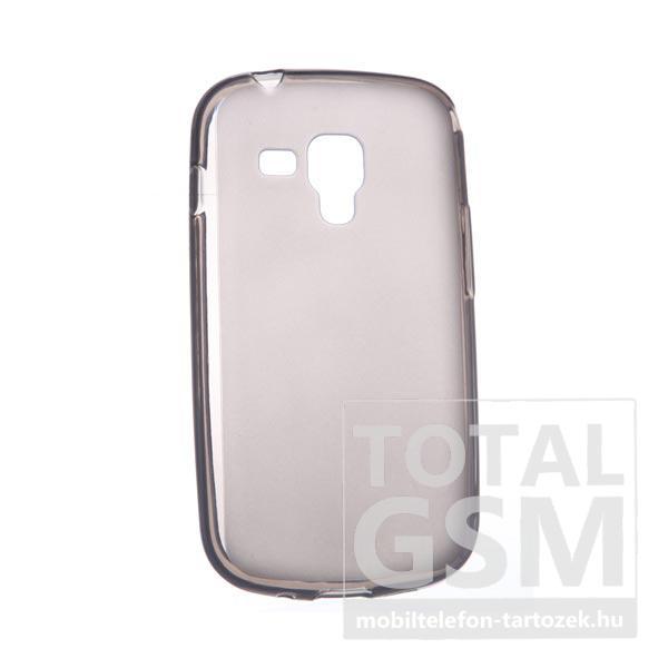 Samsung GT-S7562/GT-S7658 Dual Sim szürke szilikon tok