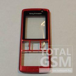 SonyEricsson K610i előlap gyári piros