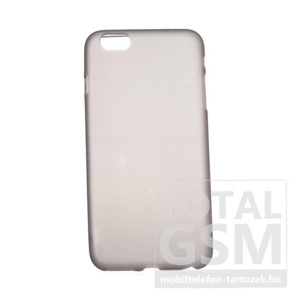 Apple iPhone 6 Plus / 6S Plus fekete-átlátszó szilikon tok