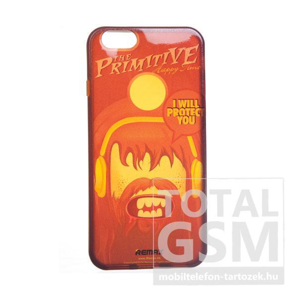 REMAX Apple iPhone 6 / 6S piros PRIMITIVE CASE kemény tok
