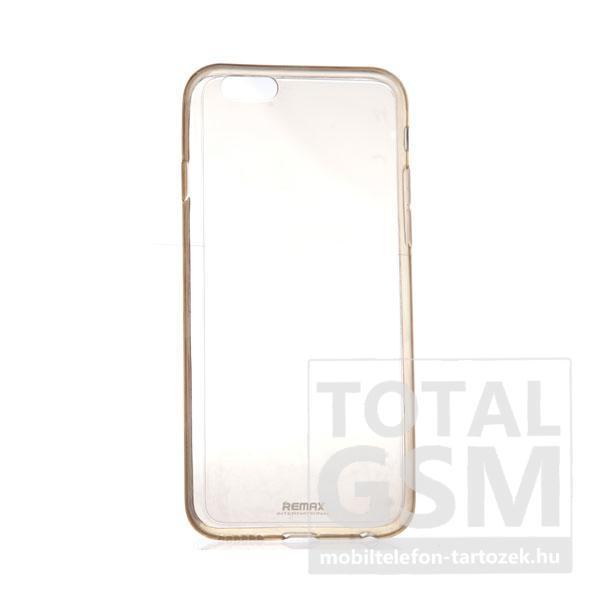 REMAX Apple iPhone 6 / 6S arany SUPER SLIM szilikon tok