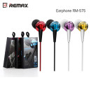 REMAX RM-575 Headset 3.5mm piros