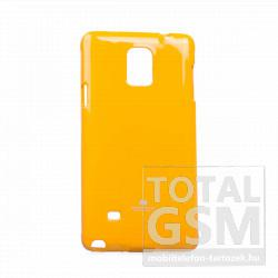 Samsung SM-N910C Galaxy Note 4 citromsárga JELLY CASE szilikon tok