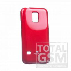 Samsung SM-G800 Galaxy S5 Mini bordó JELLY CASE szilikon tok