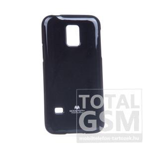 Samsung SM-G800 Galaxy S5 Mini fekete JELLY CASE szilikon tok