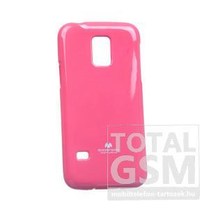 Samsung SM-G800 Galaxy S5 Mini ciklámen JELLY CASE szilikon tok