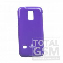 Samsung SM-G800 Galaxy S5 Mini lila JELLY CASE szilikon tok