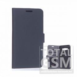 Samsung Galaxy A3 SM-A300 fekete oldalra nyíló flip tok
