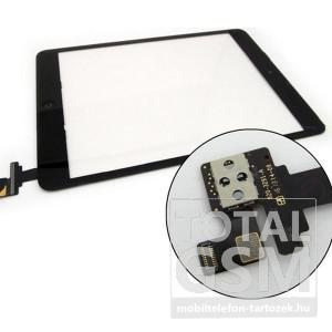 Apple iPad Mini/Mini 2 Retina fekete utángyártott érintőpanel, előlap (IC-vel)