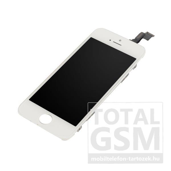 Apple iPhone 5S fehér utángyártott, felújított érintőpanel/LCD
