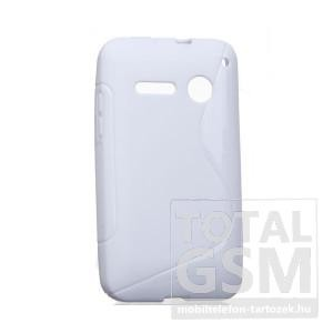 Vodafone Smart 4 Mini fehér s-line szilikon tok