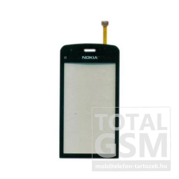 Nokia C5-03 utángyártott szürke érintőpanel