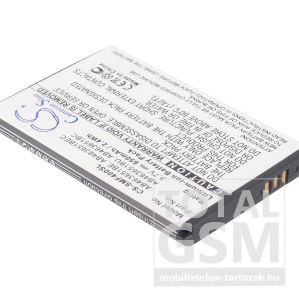 Samsung GT-C3310R Rex 60 700mAh LI-Ion utángyártott akkumulátor