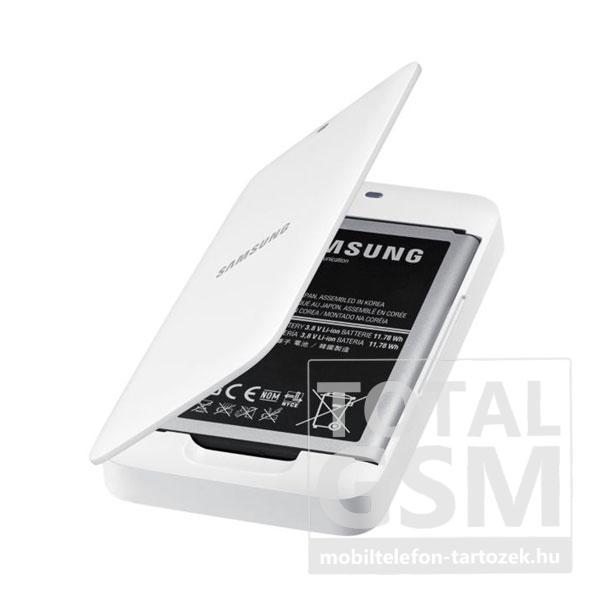 Samsung Galaxy Mega 6.3 akkumulátor töltő fehér 3200mAh eb-K700bewegww