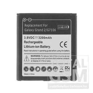 Samsung SM-G7102 Galaxy Grand 2 Duos 2600mAh LI-Ion utángyártott akkumulátor