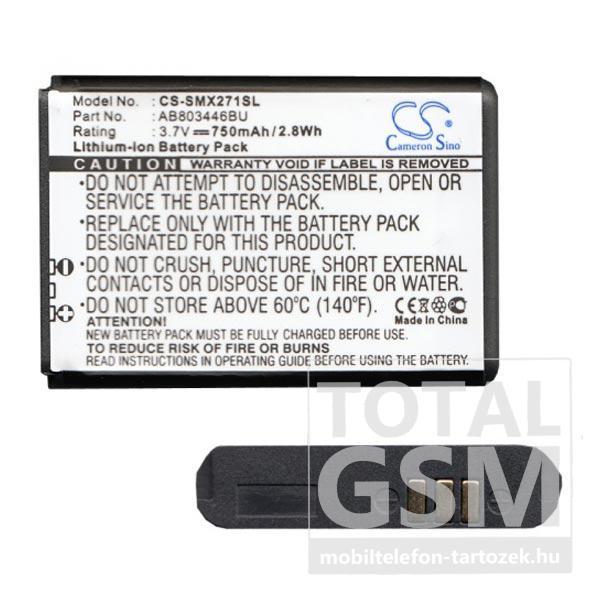 Samsung Xcover 271 GT-B2710 750mAh LI-Ion utángyártott akkumulátor