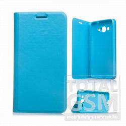 Samsung Galaxy Grand Prime SM-G530H világoskék notesz TPU-bőr flip tok