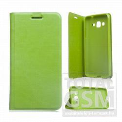 Samsung Galaxy Grand Prime SM-G530H zöld notesz TPU-bőr flip tok