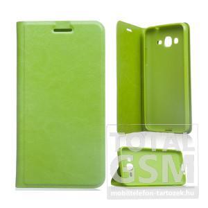 LG Spirit H440N C70 zöld notesz TPU-bőr flip tok