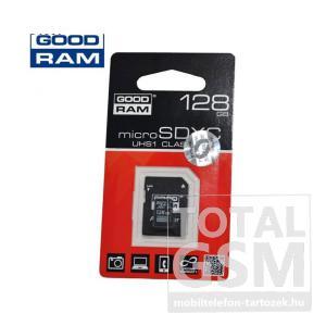 Memóriakártya TransFlash 128 GB microSDXC Class 10 UHS-1 + SD adapter