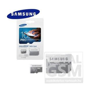 Memóriakártya TransFlash 16 GB microSDHC PRO Class 10 UHS-1 + SD adapter