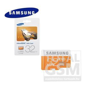 Memóriakártya TransFlash 32 GB microSDHC EVO Class 10 UHS-1 adapter nélkül