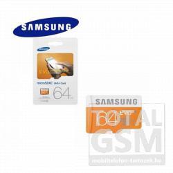 Memóriakártya TransFlash 64 GB microSD EVO Class 10 adapter nélkül