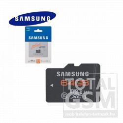 Memóriakártya TransFlash 64 GB microSDHC PLUS Class 10 UHS-1 adapter nélkül