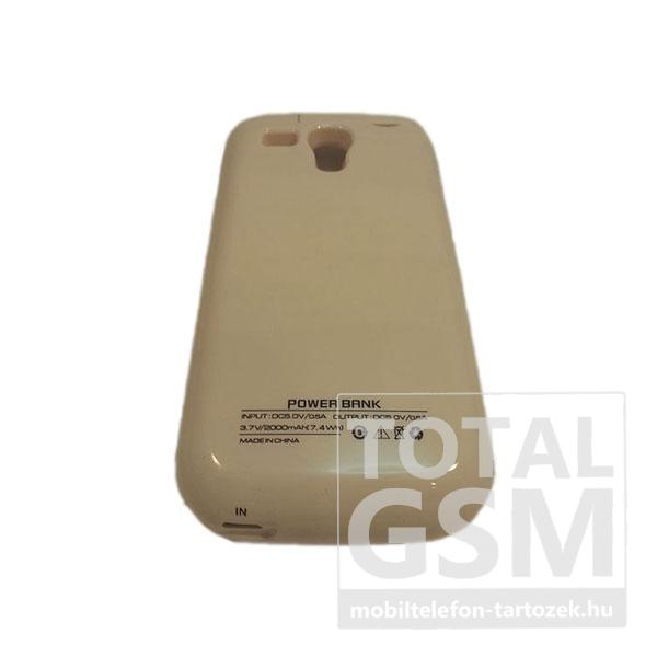 Samsung Galaxy S3 Mini GT-I8190 hátlapi akkumulátor töltő fehér 2000mAh