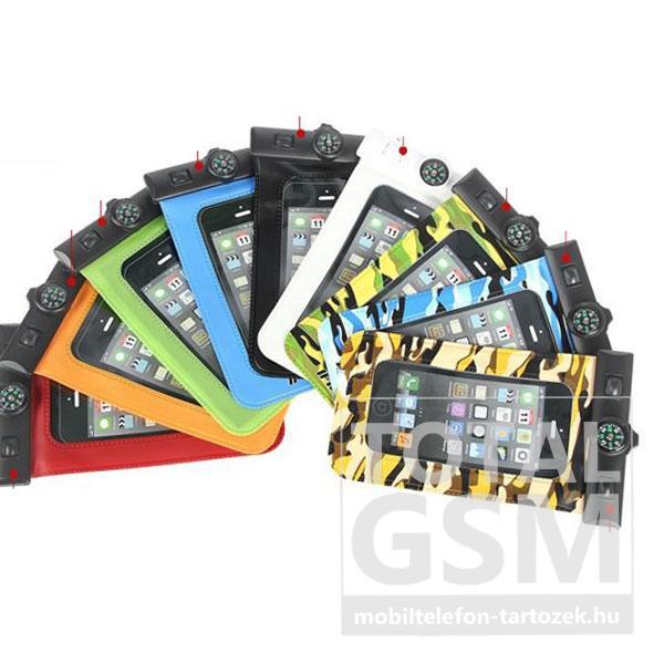 Vízálló/vízhatlan univerzális IPX8 fekete mobiltok