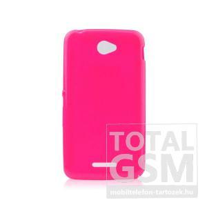 Samsung Galaxy Grand Prime SM-G530H neonrózsaszín 0,3mm csillogó Glitter Thin Tpu Case szilikon tok
