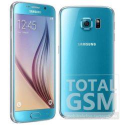 Samsung G920F Galaxy S6 32GB kék mobiltelefon