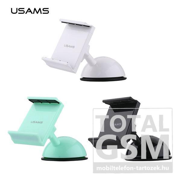 USAMS-YOUTU-gépkocsi-autó-tartó-(tapadókorongos-)-FEKETE-Fehér-Zöld