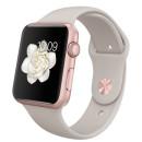 Apple Watch Sport 42mm rózsa arany-beige okosóra