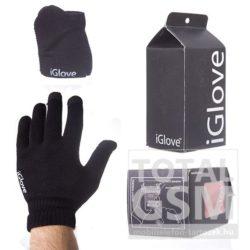 iGlove kapacitív kesztyű fekete