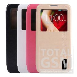 Samsung Galaxy S5 Mini SM-G800F fehér USAMS MERRY flip tok