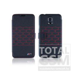 Samsung Galaxy S5 SM-G900F fekete-piros BMW flip tok