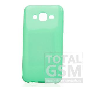 Samsung Galaxy Grand Prime SM-G530H menta zöld 0,3mm JELLY CASE Flash csillogó szilikon tok