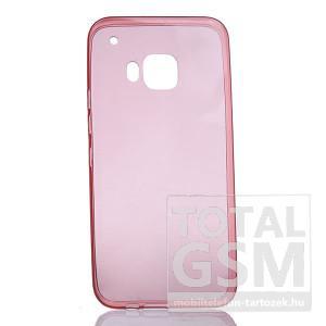 Samsung Galaxy S7 Edge SM-G935 rózsaszín TPU 0,3mm szilikon tok