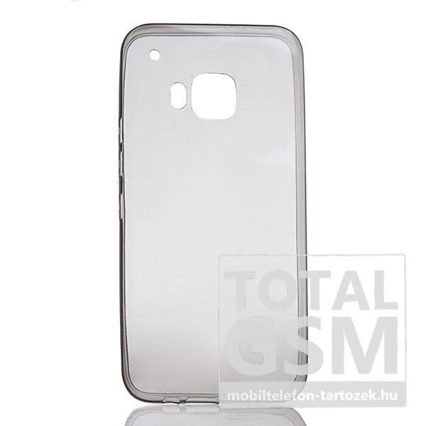 Samsung Galaxy S7 Edge SM-G935 fekete-átlátszó TPU 0,3mm szilikon tok