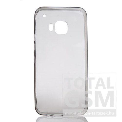 Samsung Galaxy S7 SM-G930 fekete-átlátszó TPU 0,3mm szilikon tok