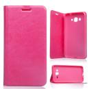 Samsung Galaxy S7 SM-G930 rózsaszín notesz TPU-bőr flip tok