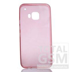 Samsung Galaxy A5 (2016) SM-A510 átlátszó-lazac SLIM 0.3mm szilikon tok