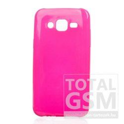 Samsung Galaxy A5 (2016) SM-A510 ciklámen JELLY CASE szilikon tok