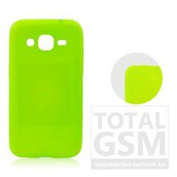 Samsung Galaxy A5 (2016) SM-A510 neon zöld JELLY CASE szilikon tok