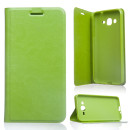 Samsung Galaxy S7 SM-G930 zöld notesz TPU-bőr flip tok