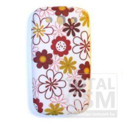 Apple iPhone 5 / 5S virág mintás szilikon tok