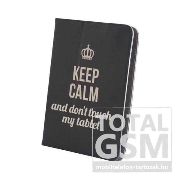 GreenGo univerzális tablet tok 7-8 colos Keep Calm mintás. GreenGo  univerzális tablet tok 7-8 colos Keep Calm mintás 483cf342e5