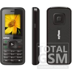 Myphone 3010 fekete mobiltelefon